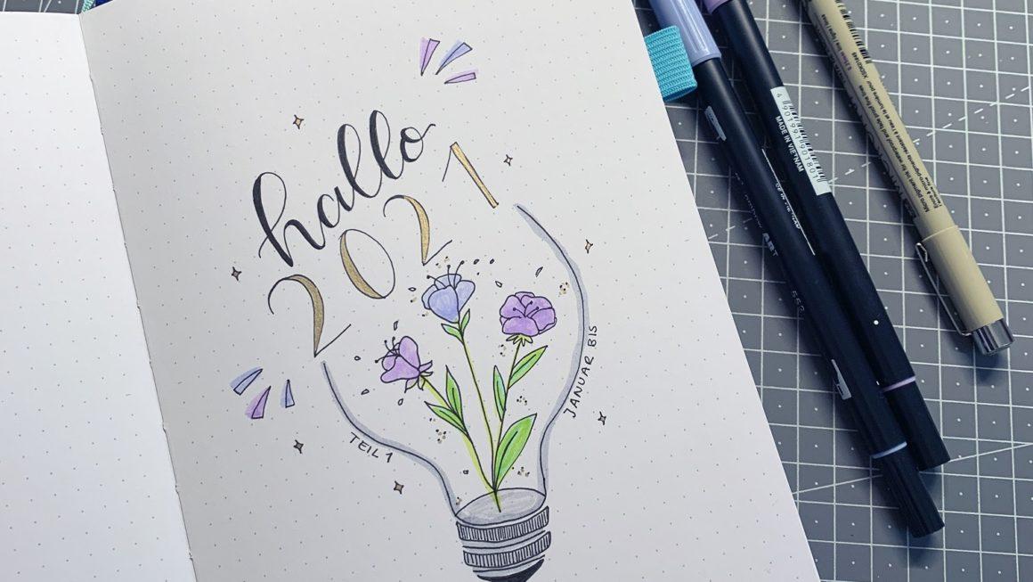 Bullet Journal Setup 2021