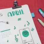 Beitrag April Bullet Journal Setup 2021