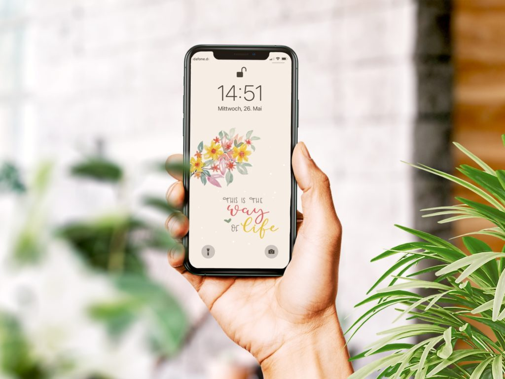 Wallpaper Juni Smartphone