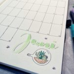 juni bullet journal setup 2021