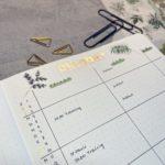 Oktober Bullet Journal Setup 2021